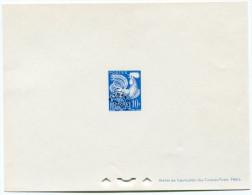 FRANCE EPREUVE DE LUXE DU TIMBRE PREOBLITERE N°110    10F. COQ GAULOIS - Epreuves De Luxe