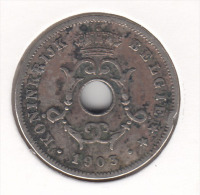 1903 Albert 10 Centimes - 1865-1909: Leopold II