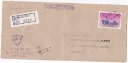 REGISTERED Gevilipinya SRi LANKA COVER ARANAYAKA YMMA  To UNDP  United Nations Un Stamps Youth - Sri Lanka (Ceylon) (1948-...)