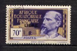 A.E.F. - N° 111° - EMILE GENTIL - A.E.F. (1936-1958)