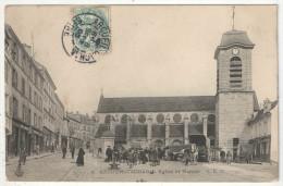 94 - ARCUEIL-CACHAN - Eglise Et Marché - CLC 4 - 1905 - Arcueil