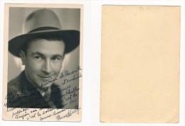 PHOTO - PHOTOGRAPHIE Originale Dédicacée MARC HELY - 17.5 X 11.5cm - Berühmtheiten
