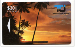 ILES COOK REF MV CARDS COK2  20$  01CID SUNSET MINT NEUF Année 1992 - Cook Islands