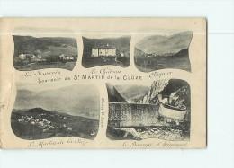 SAINT MARTIN De La CLUSE (ou CLUZE )  - SOUVENIR En 5 Vues - 2 Scans - Unclassified
