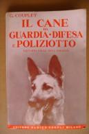 PCW/46 Couplet CANE DA GUARDIA DIFESA E POLIZIOTTO Hoepli 1973/Bovaro/Boxer/Alano/Dobermann/Collie/Bobtail - Animali Da Compagnia