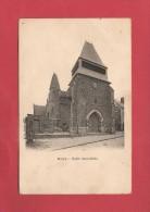 * CPA..dépt 80..ROYE :  L' Eglise Saint Gilles..Scan B  : Voir Les 2 Scans - Roye