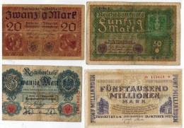 4 Billets - Germany