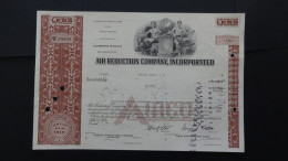 USA - Air Reduction Company, Incorporated - Nr:NCO 386639 / 1969 - 10 Shares - Look Scans - Hist. Wertpapiere - Nonvaleurs
