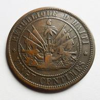 Haití - 20 Cents - 1863 - Haïti