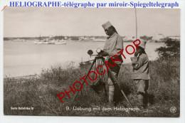 HELIOGRAPHE-Spiegeltelegraph-Deutsche Kolonien-Ostafrika-Serie III/9-Nicht Gelaufen-MILITARIA - Ausrüstung