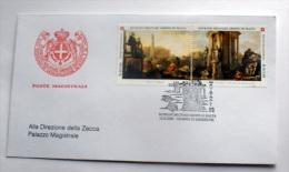 SMOM 2003 - ANTICHE VEDUTE DI ROMA  FDC VIAGGIATA , OCCASIONE - Malte (Ordre De)