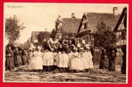 67. Geispolsheim. Procession De La Fête-Dieu. 1921 - Otros Municipios
