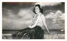 264291-Hawaiian Islands, Hawaii, RPPC, Hula Dancers, Kodak Hawaii Photo No H-321 - Verenigde Staten