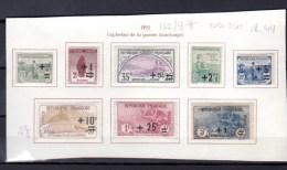 Orphelins De Guerre, 162 / 169 *,(167 Sg) Cote 255 €, - Ungebraucht
