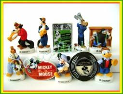 Mickey Jazz Band.... Serie Complète Mat .. Ref. AFF :  31-2009 ...( Pan 0020) - Disney