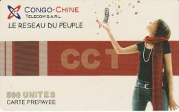 Congo - Chine Telecom SARL - Woman - 500 Un - Congo