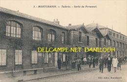 71 // MONTCHANIN   Tuilerie, Sortie Du Personnel - Frankreich