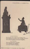 Van Bath:Fallières Et Gambetta En Ombres Chinoises - Otros Ilustradores
