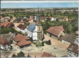 Boofzheim-En Avion Au-dessus De ...Centre Village (Cornée En Haut Et Bas à Droite,voir Scan)-(CPSM) - Other Municipalities