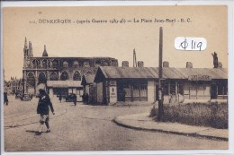 DUNKERQUE-MAISON MINERVA- CAFE-BAR -PLACE JEAN-BART-1945/46 - Dunkerque