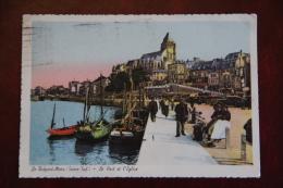 LE TREPORT SUR MER - Le Port Et L'Eglise - Le Treport
