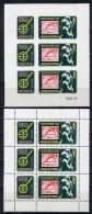 HUNGARY 1980. 3432A-3432B  OLYMPIC GAMES OSLO-1952 - Winter 1952: Oslo