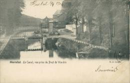 BELGIQUE HERSTAL / Le Canal, Vue Prise Du Pont De Wandre / - Herstal