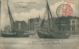 BELGIQUE HEYST / Bateaux Au Repos / - Heist