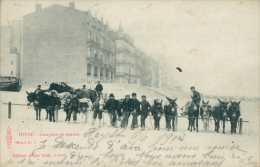 BELGIQUE HEYST / Heyst-sur-Mer, Louageurs De Baudets / - Heist