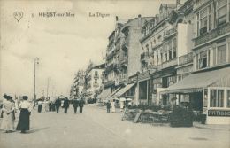 BELGIQUE HEYST / Heyst-sur-Mer, La Digue / - Heist