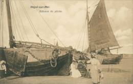 BELGIQUE HEYST / Heyst-sur-Mer, Bâteaux De Pêche / - Heist