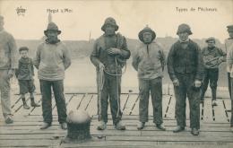 BELGIQUE HEYST / Heyst-sur-Mer, Types De Pêcheurs / - Heist