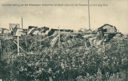 BELGIQUE HOBOKEN / Deutscher Leerzug Der Den Antwerpener Südbahnhof Zerstören Sollte / - Belgique