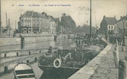 BELGIQUE ALOST / La Dendre, Le Canal Et La Passerelle / - België