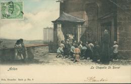 BELGIQUE ARLON / La Chapelle Saint-Donat / CARTE COULEUR - Arlon