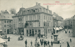 BELGIQUE ARLON / Grand'Place Et Rue Du Marché Au Beurre / - Arlon