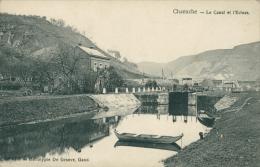 BELGIQUE CHANXCHE / Le Canal Et L'Ecluse / - Belgien