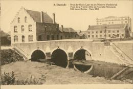 BELGIQUE DIXMUDE / Pont De La Vieille Allée Et Nouvelle Minoterie / - Diksmuide