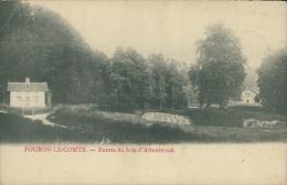BELGIQUE FOURON LE COMTE / Entrée Du Bois D'Altenbrock / - Voeren