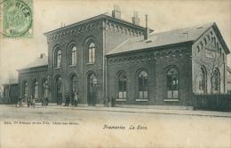 BELGIQUE FRAMERIES / La Gare / - Frameries