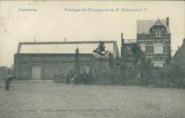 BELGIQUE FRAMERIES / Fabrique De Chaussures De Monsieur Poissonnier F / - Frameries