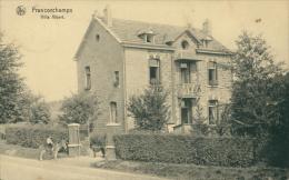 BELGIQUE FRANCORCHAMS / Villa Albert / - Belgique