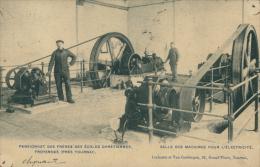 BELGIQUE FROYENNES / Pensionnat Des Frères Des Ecoles Chrétiennes, Salle Des Machines Pour L'Electricité / - Froidchapelle
