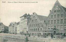 BELGIQUE GAND / Maison De L'Etape Et Maison Des Mesureurs De Grains 1698 / - Gent
