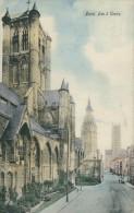 BELGIQUE GAND / Les Trois Tours / CARTE COULEUR - Gent