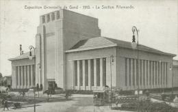 BELGIQUE GAND / Exposition Universelle De Gand, 1913, La Section Allemande / - Gent