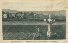 BELGIQUE GOMERY / Gomery Mit Kriegergrab Im Vordergrund / - België
