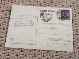 Luxembourg Lot De 4 Cartes - Stamped Stationery