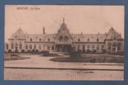HAINAUT - CP BINCHE - LA GARE - EDITION BELGE BRUXELLES - CIRCULEE EN 1924 - Binche