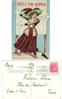 Carte Humoristique - Votes For Women - Unclassified